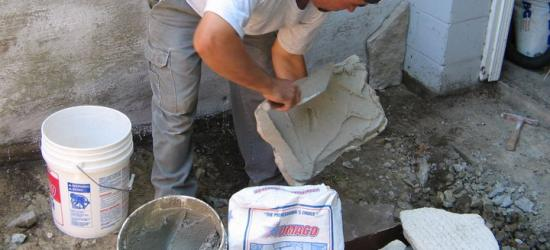 Manufactured Stone Mortar
